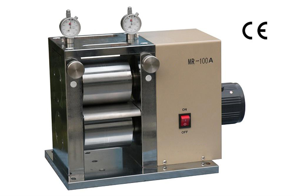 "Electric Precision 4"" Width Rolling Press with Dual Microme"