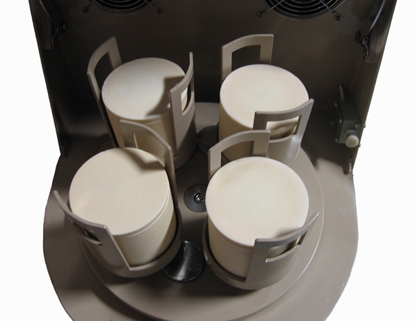 Bench-Top Planetary Ball Mill with 4 Alumina Jars (500mL) &