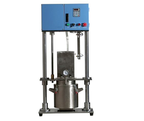 5L Electric Vacuum Mixer with Single Axis Helical Blade and