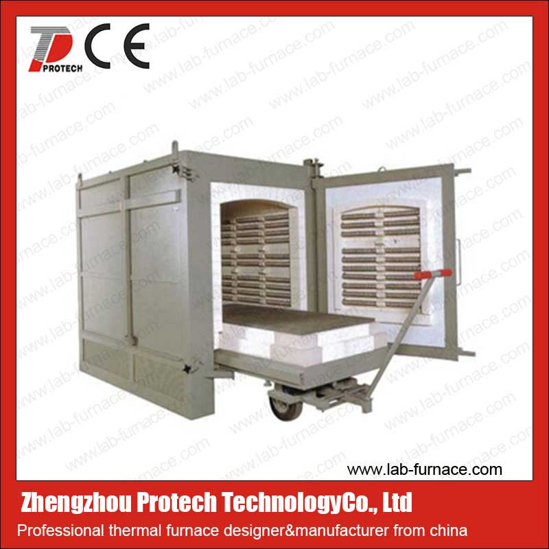 Trolley type electric furnace for sale